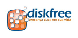 Diskfree Brasil - Logotipo com link para a página principal